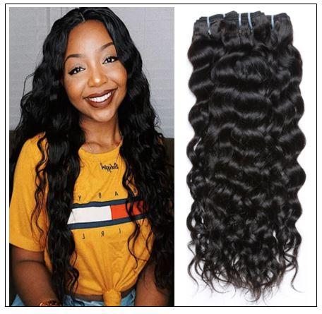 3 Bundles Brazilian Natural Wave Hair Weaves img-min