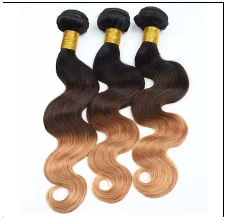 3 Bundles Brazilian Ombre Body Wave Human Hair img 2-min