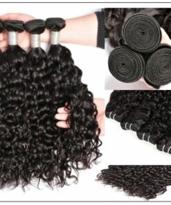 3 Bundles Brazilian Water Wave Virgin Human Hair img 2-min
