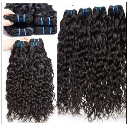 3 Bundles Brazilian Water Wave Virgin Human Hair img 3-min
