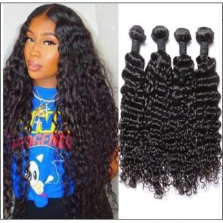 3 Bundles Brazilian Water Wave Virgin Human Hair img-min