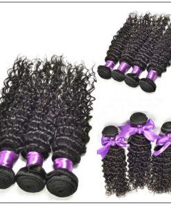 3 Bundles Indian Deep Wave Human Virgin Hair img 2-min