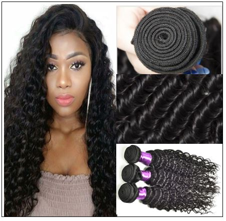 3 Bundles Indian Deep Wave Human Virgin Hair img 3-min
