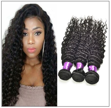 3 Bundles Indian Deep Wave Human Virgin Hair img-min
