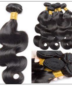 3 Bundles Indian Human Body Wave 100% Virgin Hair img 2-min