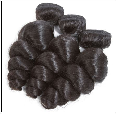 3 Bundles Indian Loose Wave Virgin Human Hair Weave img 4-min
