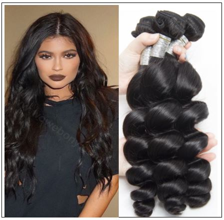 3 Bundles Indian Loose Wave Virgin Human Hair Weave img-min