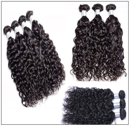 3 Bundles Indian Virgin Natural Wave Weave Human Hair img 2-min