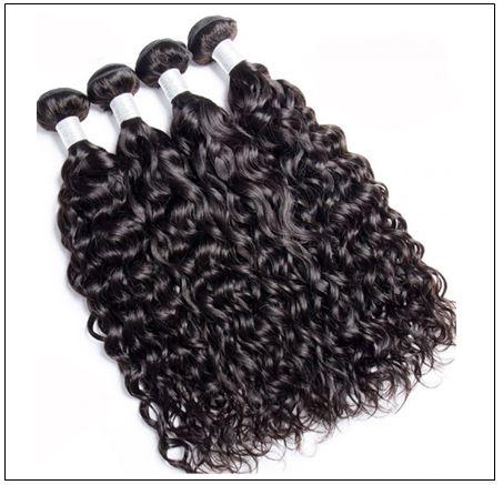 3 Bundles Indian Virgin Natural Wave Weave Human Hair img 4-min