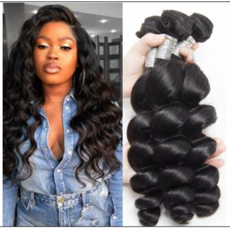 3 Bundles Loose Deep Wave Cheap Human Hair img-min