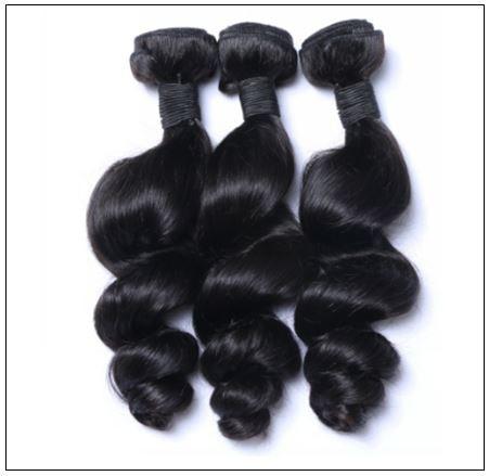 3 Bundles Malaysian Loose Wave Virgin Human Hair img 4-min