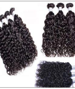 3 Bundles Peruvian Natural Wave Weave Natural Color Hair img 4-min