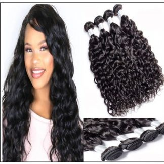3 Bundles Peruvian Natural Wave Weave Natural Color Hair img-min