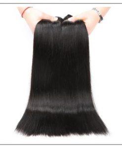 3 Bundles Peruvian Straight Hair Weft img 4-min