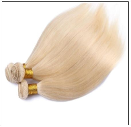 3 Bundles Straight Weave Blonde Hair Extension img 2-min
