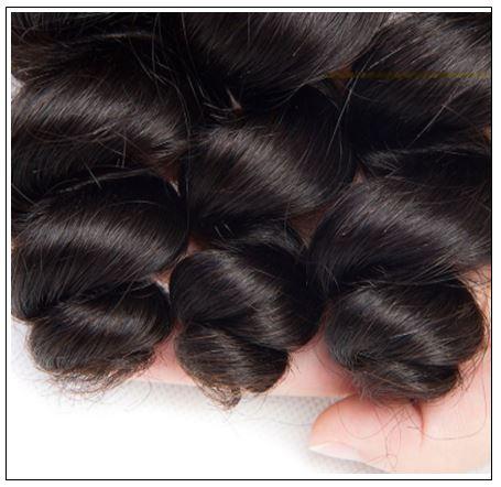 3 Bundles Unprocessed Peruvian Loose Human Hair Weave img 3-min