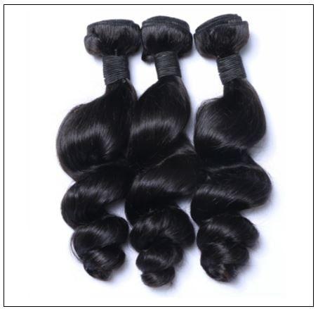 3 Bundles Unprocessed Peruvian Loose Human Hair Weave img 4-min