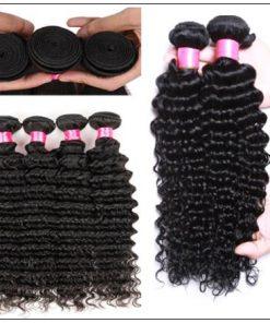 3 Bundles Unprocessed Virgin Hair Wholesale Deep Wave Hair img 4-min