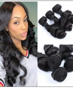 3 Bundles Virgin Malaysian Loose Wave Hair img 1