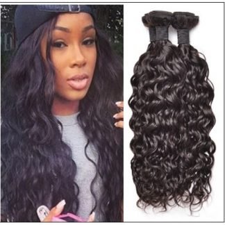 3 Bundles Virgin Peruvian Hair Natural Wave img-min