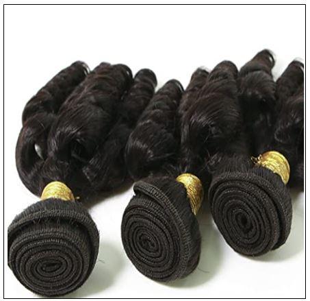 3 Bundles Virgin Remy Hair Short Curly Weave img 3-min
