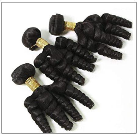 3 Bundles Virgin Remy Hair Short Curly Weave img 4-min