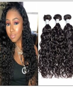 3 Bundles Water Wave Virgin Human Hair img-min