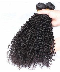 3 Bundles100% Virgin Human Hair Kinky Curly Hair img 4-min