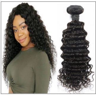 3 bundle Deep wave Brazilian human virgin hair img 1-min