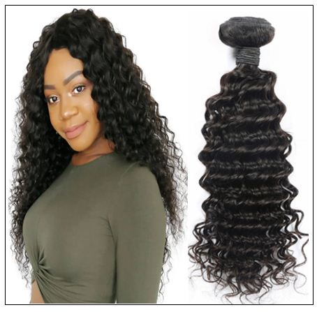 3 bundle Deep wave Brazilian human virgin hair img 1-min