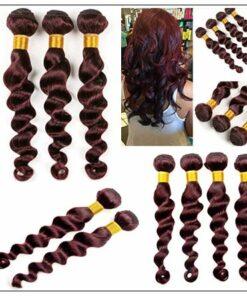 4 Bundles 99j Loose Deep Wave Human Hair Extensions img 3-min