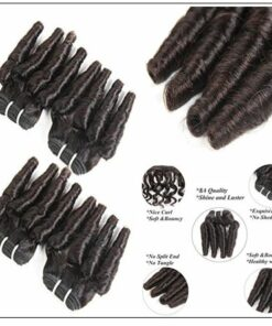 4 Bundles Spiral Curl Hair Bundles img 3-min