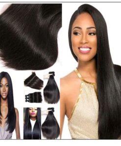 4 bundle straight hair extension img 3