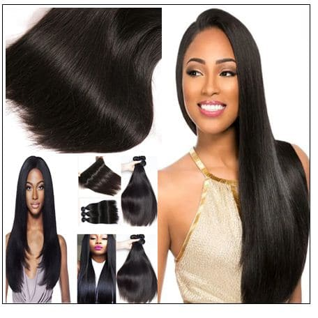 4 bundle straight hair extension img 3
