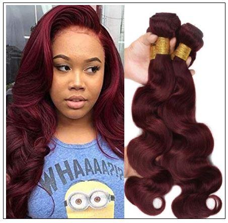 99J Body Wave 100% Human Hair Weave img-min