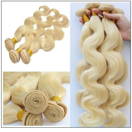 Blonde Body Wave Hair Weave img 2-min