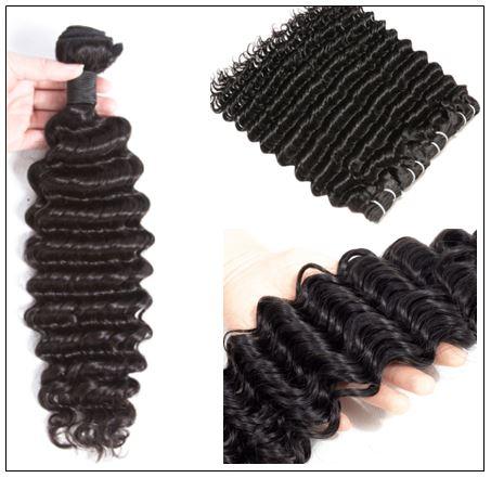 Brazilian Deep Wave Hair Extensions Human Hair Bundles img 3-min