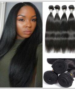 Brazilian Straight Unprocessed Virgin Hair Weave img-min