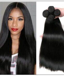 Brazilian straight hair bundles img