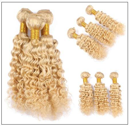 Deep Wave 613 Color Hair Weft Blonde Bundles 10-24 Inch img 2-min