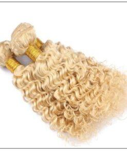 Deep Wave 613 Color Hair Weft Blonde Bundles 10-24 Inch img 4-min