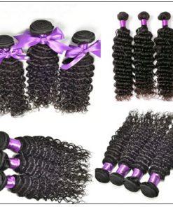 Good Quality 3 Bundles Cheap Deep Wave Human Virgin Hair img 2-min