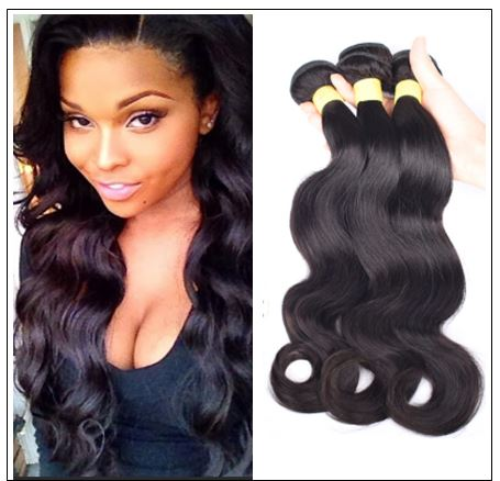 Indian Body Wave Hair Extensions-100% Human Hair img-min
