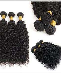 Indian Jerry Curl Hair Weave -100% Virgin Hair img 2-min