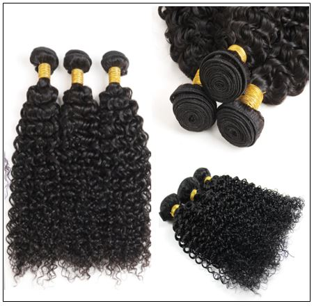 Indian Jerry Curl Hair Weave -100% Virgin Hair img 2-min