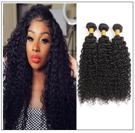 Indian Jerry Curl Hair Weave -100% Virgin Hair img-min