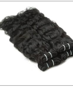 Indian Natural Wave Hair Weave img 2-min