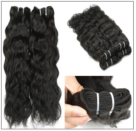 Indian Natural Wave Hair Weave img 3-min