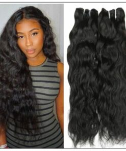 Indian Natural Wave Hair Weave img-min