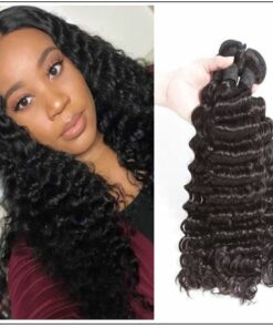 Indian Virgin Deep Wave Hair Bundle img 1-min